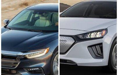Comparativa: Honda Insight 2021 vs Hyundai Ioniq Limited 2021