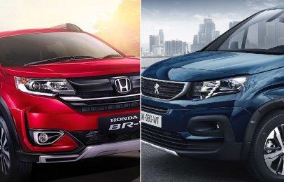 Comparativa: Honda BR-V Prime 2021 vs Peugeot Rifter Allure 7P 2021