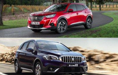 Comparativa: Peugeot 2008 Allure 2022 vs Suzuki S-Cross Boosterjet 2021