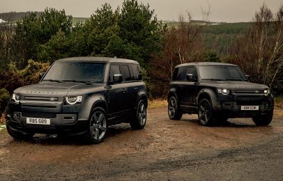 Land Rover presenta su Defender V8 más poderosa