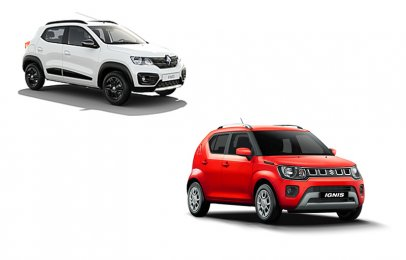Comparativa: Suzuki Ignis GL Manual 2021 vs Renault Kwid Outsider 2021
