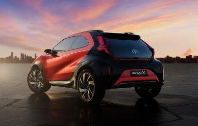 Video: Toyota presentó el Aygo X prologue