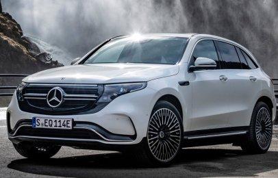 Mercedes-Benz EQC 2021 Reseña - Una nueva contendiente que es innovadora