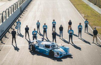 Hyundai se asocia con Forze Hydrogen Racing para crear auto de carreras