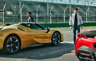 Video: Sainz y Leclerc ponen a prueba al Ferrari SF90 Stradale en Imola