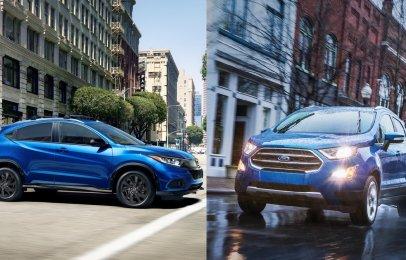 Comparativa: Ford EcoSport Trend TM 2021 vs Honda HR-V Uniq MT 2021