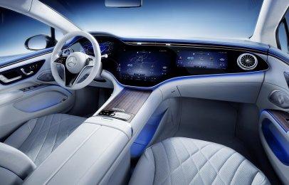 Mercedes-Benz revela el interior del EQS