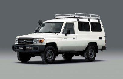 Toyota modifica una Land Cruiser para transporte de vacunas