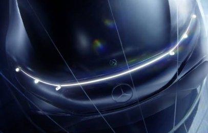 Mercedes-Benz nos muestra más detalles de su EQS