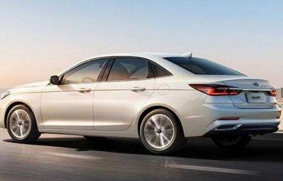 Se revelan las actualizaciones del Ford Escort exclusivo para China