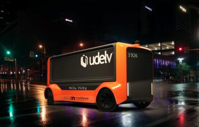 Video: Mobileye y Udelv muestran The Transporter, su primer repartidor autónomo