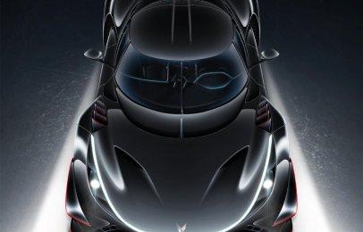 Elektron Quasar, el auto eléctrico alemán de 2,300 caballos de fuerza
