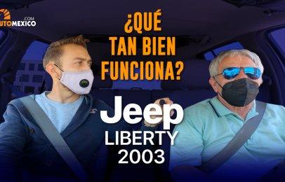 Auto usado - ¿Sabes cómo luce ve una Jeep Liberty de hace 18 años?