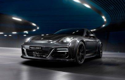 El Porsche Panamera gana potencia y carácter gracias a TechArt