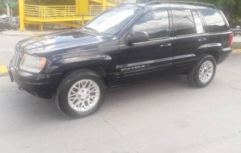 Quiero vender inmediatamente mi auto Jeep Grand Cherokee 2002 muy bien cuidado