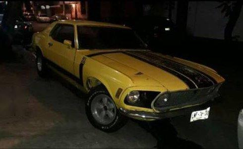 En venta un Ford Mustang GT 1970 Automático muy bien cuidado