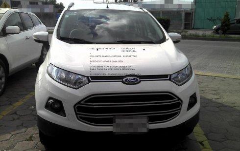 Venta auto Ford EcoSport 2014 , Puebla