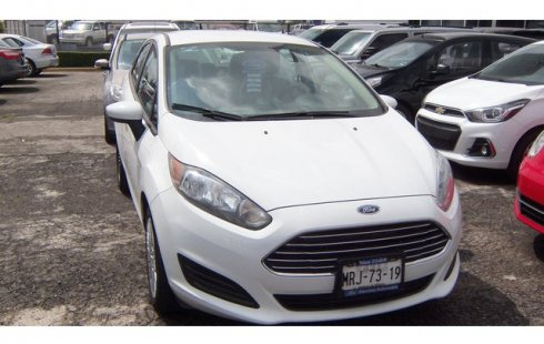 Ford Fiesta 1.6 S AT 2014 Blanco