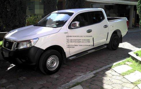 No te pierdas un excelente Nissan Frontier 2017 Manual en Puebla