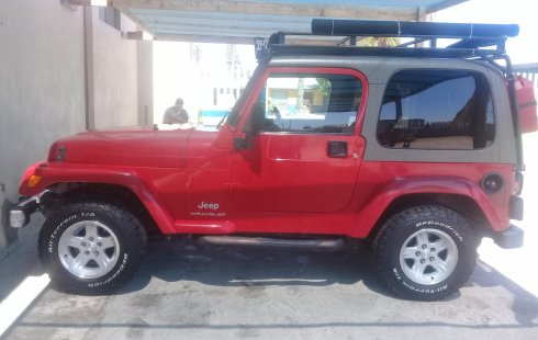 Jeep Wrangler 2003 Rojo $169,999