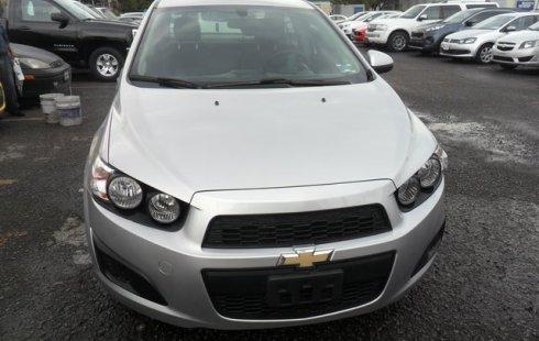 Chevrolet Sonic 2016 Plata en Toluca