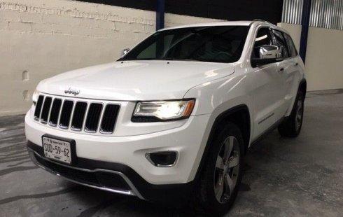 Quiero vender urgentemente mi auto Jeep Grand Cherokee 2016 muy bien estado