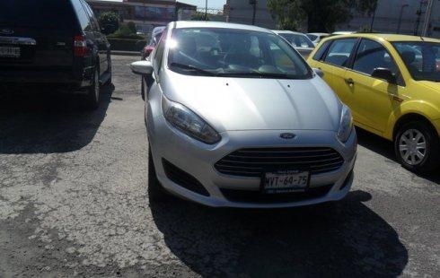 Ford Fiesta 2016 Plata