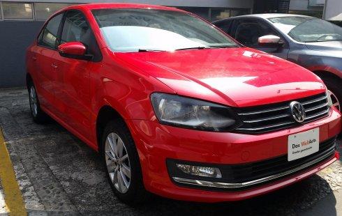 Volkswagen Vento Highline Tiptronic 2017 Rojo