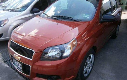 Quiero vender inmediatamente mi auto Chevrolet Aveo 2016 muy bien cuidado
