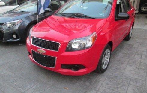 Chevrolet Aveo 2016 nuevo
