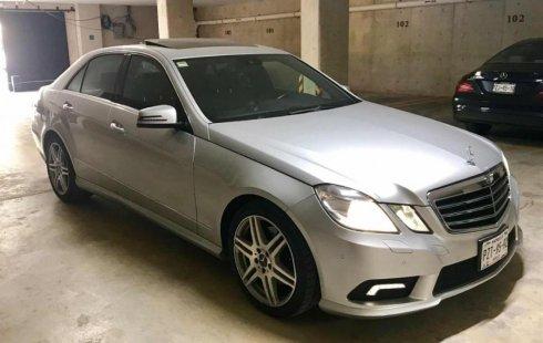 Urge!! En venta carro Mercedes-Benz Clase E 2011 de único propietario en excelente estado