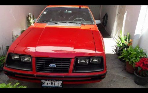 Ford Mustang Burbuja 1983