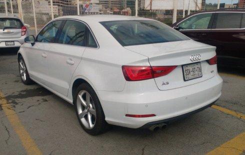 Un Audi A3 2015 impecable te está esperando