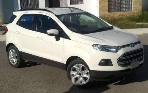 Un Ford EcoSport 2015 impecable te está esperando
