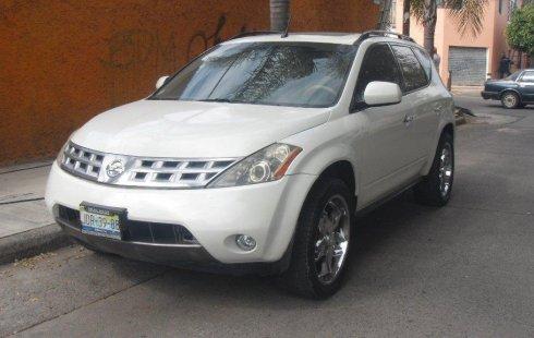 En venta un Nissan MURANO 2005 Automático en excelente condición
