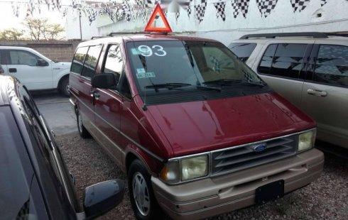 Pongo a la venta cuanto antes posible un Ford Aerostar en excelente condicción
