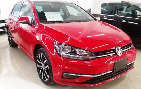Volkswagen Golf Highline Aut 2018 Rojo