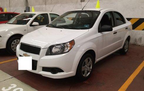 Vendo Chevrolet Aveo 2013