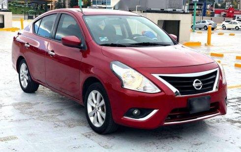 Nissan Versa impecable en Cuajimalpa de Morelos más barato imposible