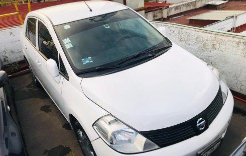 Nissan Tiida Sense 2013 Blanco