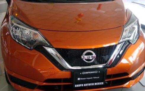 Nissan Note 2019 Naranja