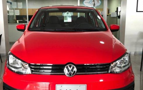 Volkswagen Gol Sedán 2018 Rojo *Seguro gratis por 1 año
