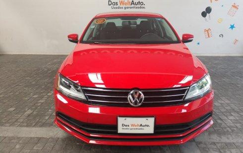 Volkswagen Jetta Trendline 2017 Rojo