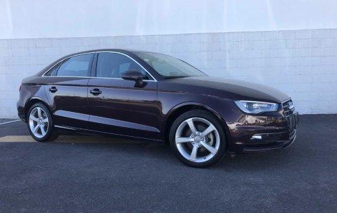 Quiero vender urgentemente mi auto Audi A3 2015 muy bien estado