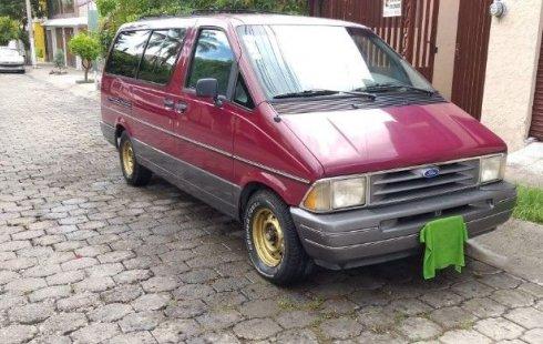 Quiero vender urgentemente mi auto Ford Aerostar 1994 muy bien estado