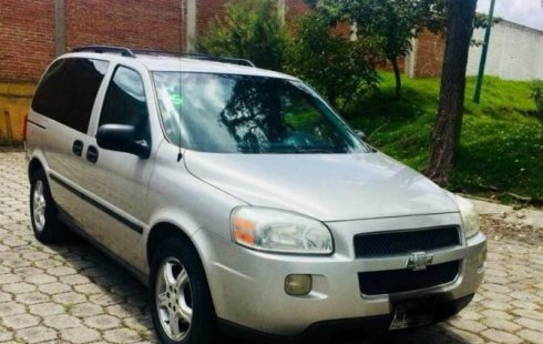 Pongo a la venta cuanto antes posible un Chevrolet Uplander en excelente condicción a un precio increíblemente barato