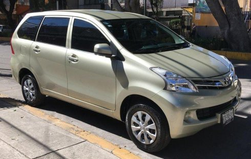 Toyota Avanza impecable en Ciudad de México más barato imposible