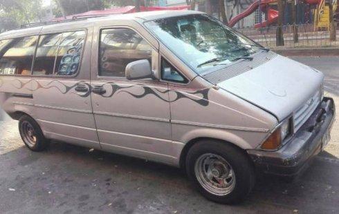 Se vende urgemente Ford Aerostar 1991 Automático en Benito Juárez