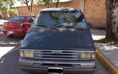 Me veo obligado vender mi carro Ford Aerostar 1994 por cuestiones económicas