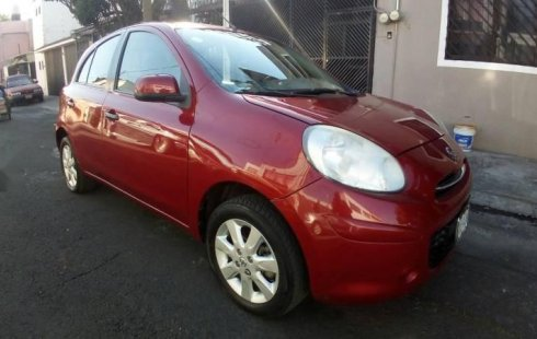 Un Nissan March 2012 impecable te está esperando